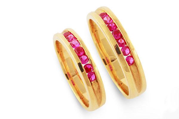 Vàng Hồng - Màu nhẫn cưới được yêu thích nhất 2017