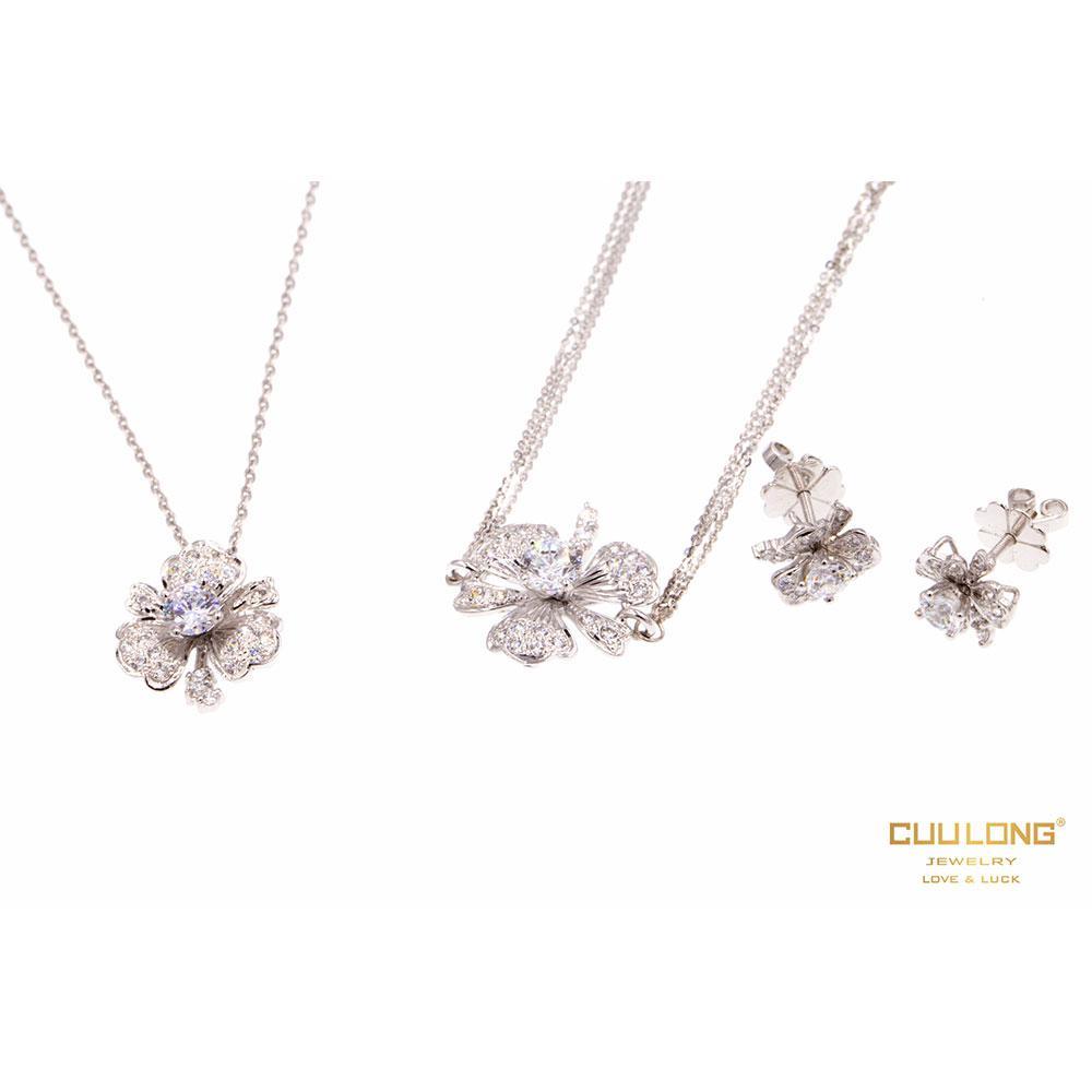 Trang sức bộ Cửu Long Jewelry - Vẻ đẹp tinh tế và hoàn mỹ