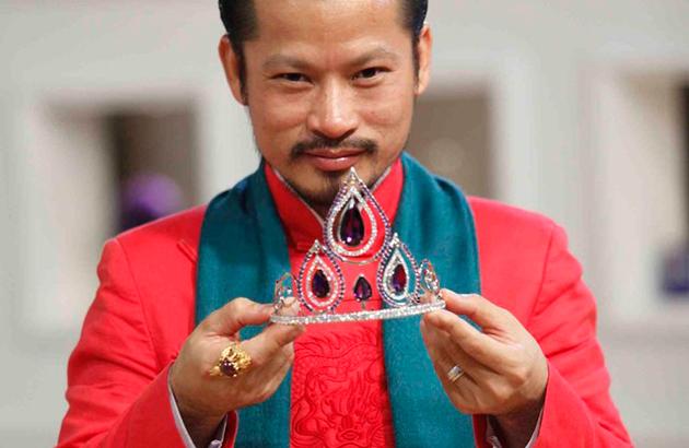 Lộ diện vương miện của Hoa khôi Áo dài Việt Nam