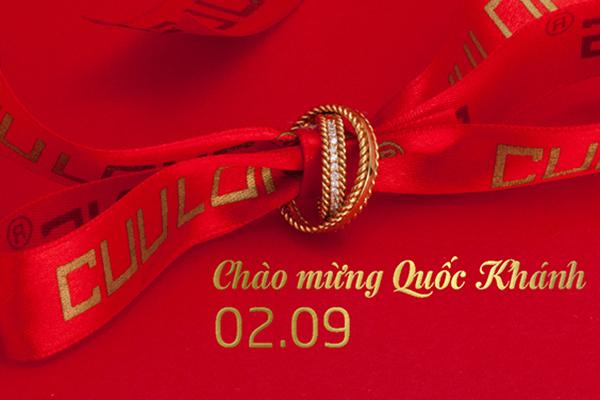 Trang sức CLJ ưu đãi 20% mừng ngày Lễ Quốc Khánh