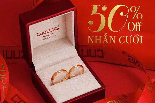 Cửu Long Jewelry ưu đãi khủng tại triển lãm cưới Đà Nẵng