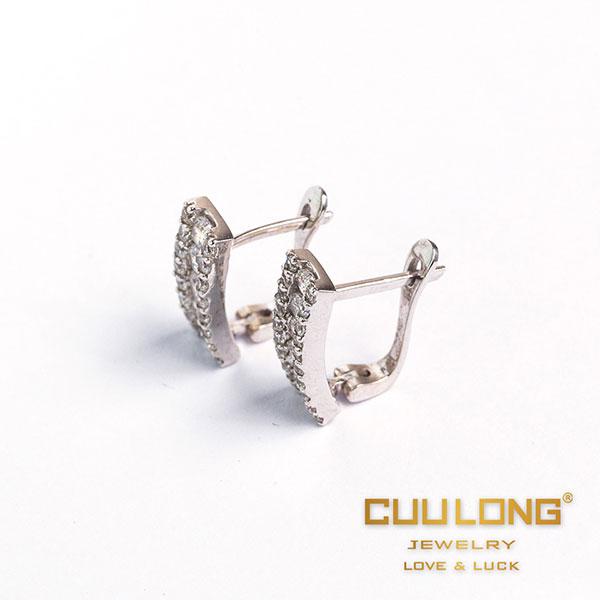 hoa tai cưới cửu long jewelry