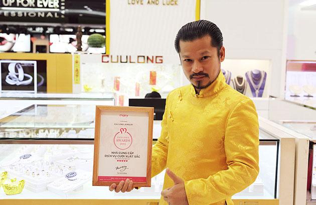 Cửu Long Jewelry nhận giải thưởng vinh danh Nhà Cung cấp Dịch vụ Cưới xuất sắc 2015