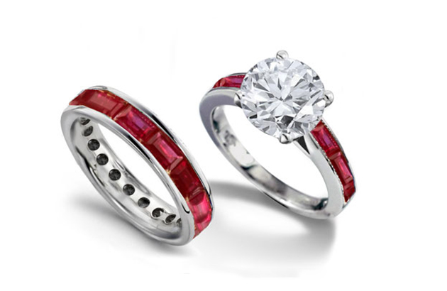 Nhẫn Ruby đỏ cho cô dâu mùa đông