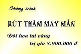 Chương trình rút thăm may mắn - NH Minh Thùy