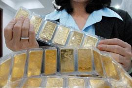 Sau Tết, giá vàng giảm mạnh