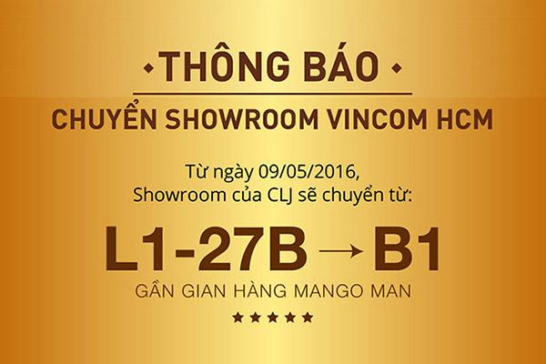 Cửu Long Jewelry: Điều chỉnh địa điểm bán hàng tại Vincom HCM