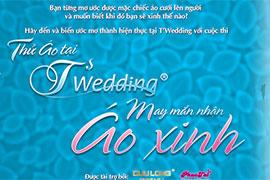 Thử Áo tại T'Wedding - May mắn nhận Áo Xinh