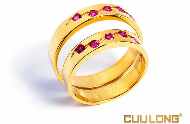 Xu hướng nhẫn cưới 2015