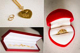 3 loại vàng trang sức cho ngày cưới