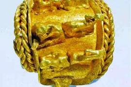 Bộ trang sức bằng vàng nghìn năm tuổi