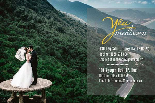 Chụp ảnh cưới tại Yeumedia Studio nhận ngay voucher Cửu Long Jewelry