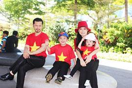 Chuyến du ngoạn đầy thú vị của gia đình Hùng Cửu Long