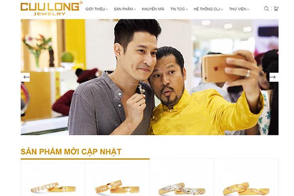 Cửu Long Jewelry ra mắt Website phiên bản mới