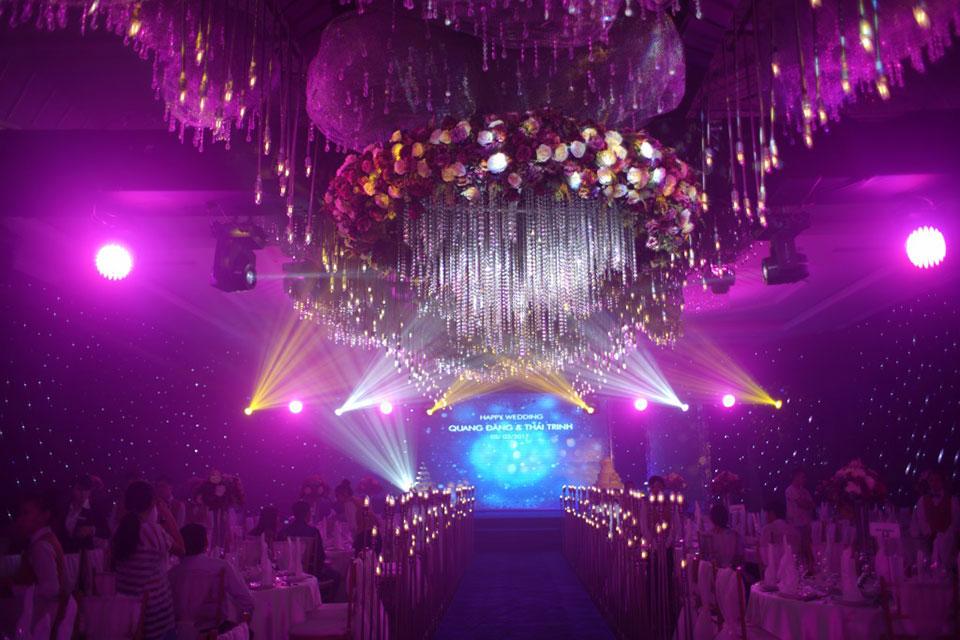 Cửu Long Jewelry tại sự kiện cưới Sắc Màu Pha Lê
