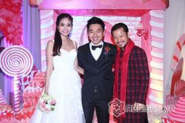 Dàn sao nô nức dự đám cưới Ninh Hoàng Ngân