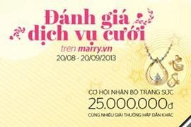 Đánh giá dịch vụ cưới - Nhận bộ trang sức Cửu Long 25.000.000đ