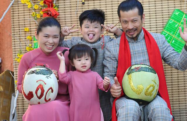 Doanh nhân Hùng Cửu Long: Tết dành trọn cho gia đình