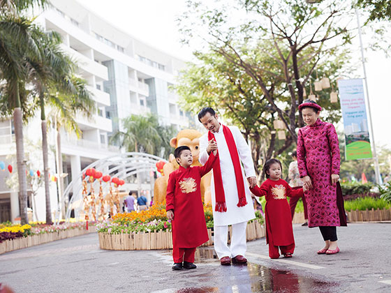Hùng Cửu Long du xuân Bính Thân 2016 cùng gia đình