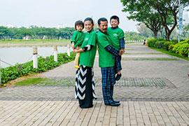 Gia đình Hùng Cửu Long được chọn làm Đại sứ Run To Future