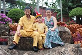Hùng Cửu Long bù đắp thiệt thòi cho gia đình