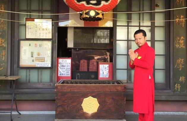 Hùng Cửu Long tỏa sáng cùng quốc phục Việt Nam trên nước Nhật