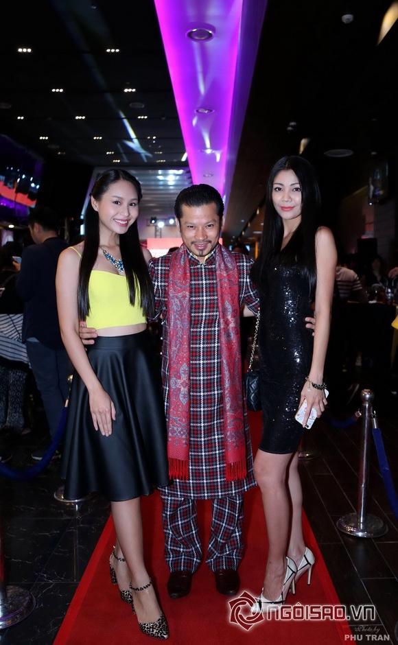 Hùng Cửu Long nổi bật trên thảm đỏ Kung Fu Phở