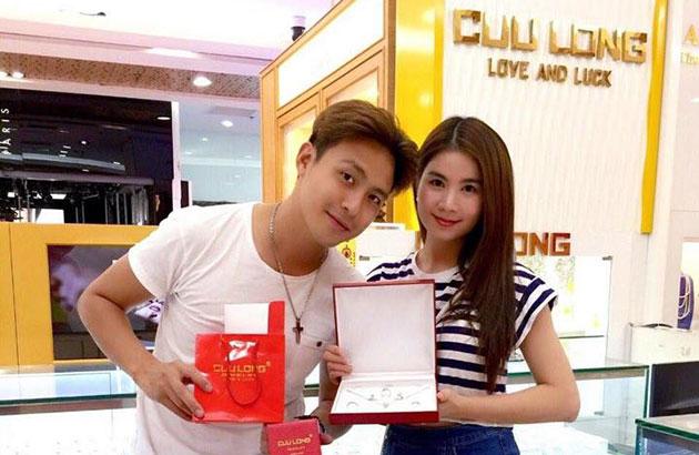 Kha Ly và Thanh Duy lựa chọn trang sức Cửu Long làm tín vật tình yêu