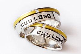 Khắc tên lên nhẫn miễn phí khi mua sản phẩm tại Cửu Long Jewelry
