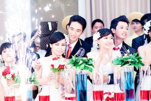 Lễ cưới tập thể mang tên Đám cưới vì cộng đồng 2014