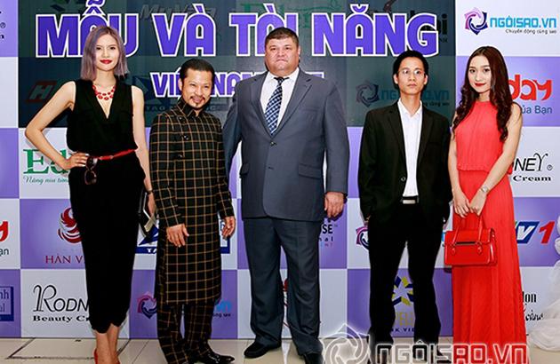 Lễ ra mắt cuộc thi Mẫu và Tài năng Việt Nam 2015