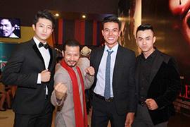 Mr Áo dài Hùng Cửu Long dự lễ ra mắt Hương Ga