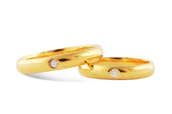 Nhẫn cưới trơn truyền thống dẫn đầu xu hướng chọn nhẫn cưới của năm 2016