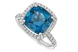 Nhẫn đính hôn đá quý tuyệt đẹp