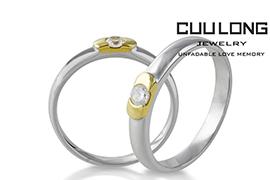 Phân biệt nhẫn cưới vàng trắng và bạch kim