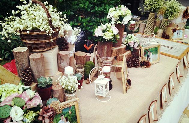 Rustic Wedding Day - Sự kiện mua sắm dịch vụ cưới đặc sắc