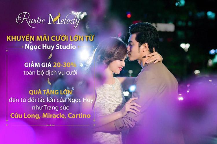 Rustic Melody - Khuyến mãi cưới lớn từ Ngọc Huy Studio