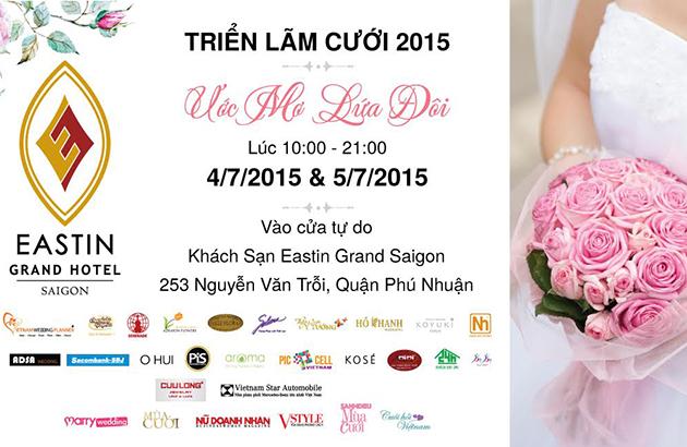 Triển lãm cưới 2015 - Ước Mơ Lứa Đôi