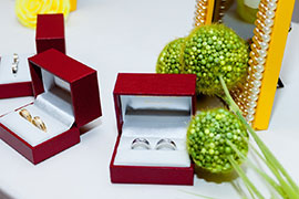 Trang sức cưới Cửu Long tại Wedding Fair 2014