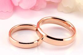 Xu hướng 2014: Nhẫn cưới vàng hồng