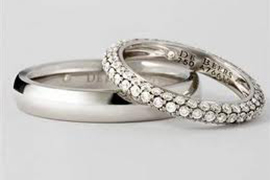 Xu hướng nhẫn cưới 2014